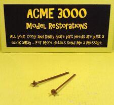 Spot On Tri-ang 184 Austin A60 Reproduction Repro Pair Plastic Ski Sticks Poles