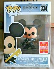 Funko Kingdom Hearts 334 Organization 13 Mickey Limited Edition SDCC Exclusive
