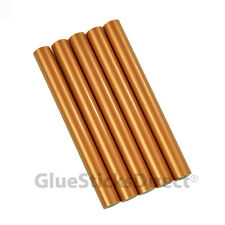 "GlueSticksDirect Copper Metallic Colored Glue Sticks 7/16"" X 4""   5 sticks"