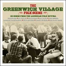 Greenwich Village Folk Scene BEST OF 60 FOLK REVIVAL SONGS Various NEW 3 CD