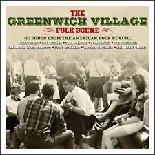 Greenwich Village Folk Scene BEST OF 60 FOLK REVIVAL SONGS Various NEW 3 CD
