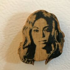 Beyonce Handcrafted Wood Magnet Lettercraft Famous Faces