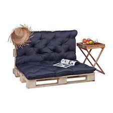 (tg. 135x114x10 Cm) Relaxdays 10023472 111 Cuscino per Pallet da giardino imbot