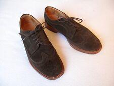 Marc McNairy - Brogue Suede shoes - 44 - Marron