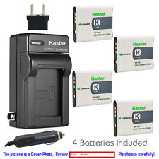 Kastar Battery Travel Charger for Sony NP-BK1 BC-CSK & Sony Cyber-shot DSC-W370