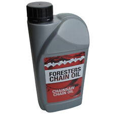 More details for chain oil 1 litre chainsaw super tacky guide bar for all makes of saws