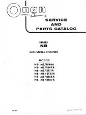 ONAN Series NB Industrial Engine Service Manual