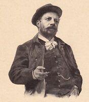 Portrait Henri Boutet Peintre Peinture Graveur Gravure Sainte-Hermine Vendée
