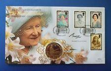 Benham 2002 reine mère une couronne coin FDC signé par vicomte Thurso de Ulster