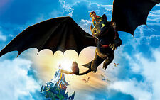 Poster A3 Como entrenar a tu dragón / How To Train Your Dragon 03