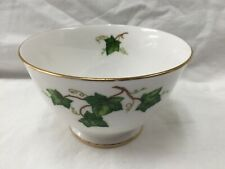 COLCLOUGH Ivy Leaf Bone China sugar bowl