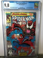 Spider Man Unlimited #1 (1993) First appearance of Shreik CGC 9.8 (pls read)