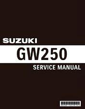 Suzuki GW 250 (Inazuma) Service Repair Shop Maintenance *PDF* Manual 2012-2017