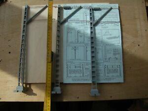 Oberleitungs-Set für Spur II: Masten, Fahrdrähte, Quertragewerke für LGB und and
