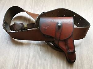 German WW2 Officers Walther PPK holster with belt
