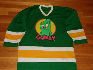 GUMBY LONG SLEEVE HOCKEY JERSEY MENS XL NICE CONDITION