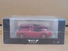 1/43 NEO  1955 AC ACE  DARK RED  NEO 45006