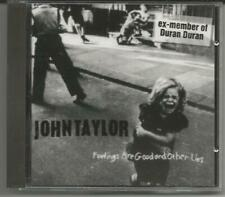 "JOHN TAYLOR ""Feelings Are Good and other lies"" CD 1997 NEU/NEW - Ex-Duran Duran"
