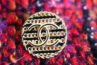 100% Chanel button 1 pieces   metal cc logo 18 mm 0,7  inch 💔💔💔gold