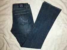 NWT $88 - Rock and Republic Misses Kasandra Glamourpuss Boot Cut Jeans - Size 6
