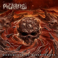"PULVERIZED ""Monuments of Misanthropy""  Old School Death Metal (NEW CD Sealed)"