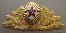 RUSSIAN  general soviet   ARMY  PIN BADGE HAT  COCKADE     #30  LE