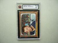 1966/67 TOPPS NHL HOCKEY CARD 30 EARL INGARFIELD KSA 7.5 NM+ SHARP!! 66/67 TOPPS