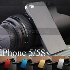 Plain Metal Mobile Phone Cases, Covers & Skins for iPhone 5