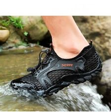 Men Amphibious Shoes Hiking Rock Reef Fishing Non-Slip Stream Sneakers Outdoor