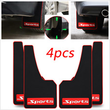 Universal 4Pcs Car Mud Flaps Splash Guards Mudflaps Mudgurads Fender Front Rear