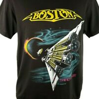 Boston Band T Shirt Vintage 80s 1987 Third Stage US Tour Made In USA Size Medium