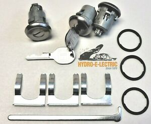 NEW 1969-1981 GTO, LeMans, Tempest- Door & Trunk Lock Set