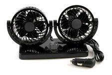 12V TWIN FAN WITH 2 SPEED DUAL FAN FOR CAR LORRY TRUCK CARAVAN BOAT ALLRIDE