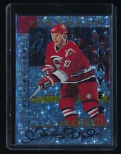GARY ROBERTS 1997-98 BE A PLAYER AUTOGRAPH PRISMATIC DIE CUT AUTO /100*
