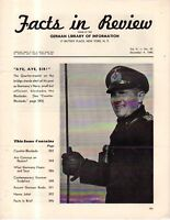 1940 Facts in Review-Nazi,German,Hitler Propaganda in the U.S.; Mythical raids