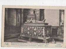 Tumulo do Grande Poeta Luiz de Camoes Jeronymos Belem Portugal Postcard 491b