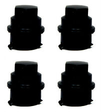 (4) 2006 CHEVY CHEVROLET COBALT 12X1.5 BLACK LUG NUT COVERS FOR HUBCAPS
