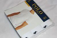 Polo Ralph Lauren Men's White Cotton Crew Classic 3-Pack T-Shirt Sizes S,M,L,XL