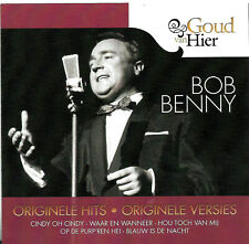 "Eurovision 1959 + 1961, Belgium, Bob Benny, CD ""Originele Hits"""