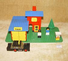 LEGO Sets: Legoland: Building: 368-1 Taxi Station (1976) 100% RETRO Call a Cab!