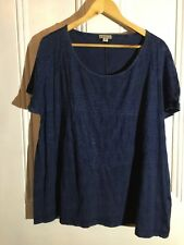 FABULOUS AUTOGRAPH TOP BLUE SIZE 16 NEW