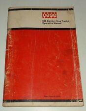 Case 930 Comfort King Tractor Operators Amp Maintenance Manual Original 9 1575