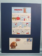 Peanuts featuring Snoopy and Woodstock & First Day Cover