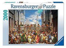 Ravensburger 16653 Puzzle 2000 Pezzi Veronese Nozze di Cana