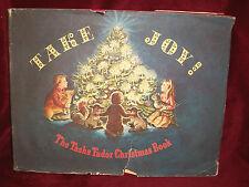 TAKE JOY The Tasha Tudor Christmas Book 1966 1st ED HC w/ DJ