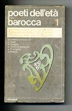 POETI DELL'ETÀ BAROCCA # Vol.I # Garzanti 1973 # 1A ED.