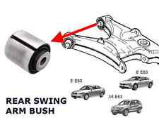 FOR BMW 5 E60 6 E63 X5 E53 REAR SWING SWINGING CONTROL TRAILING ARM REAR BUSH
