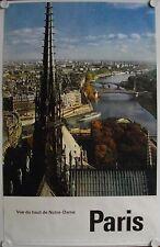 Affiche France NOTRE DAME de PARIS - Imp. Draeger - Tourisme