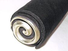 ROBERT LEE MORRIS DONNA KARAN silver spiral black faille eve shoulder bag VTG