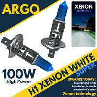 H1 Xenon Super White 100w Bulbs Main Beam 12v Headlight Headlamp Hid Light X 2